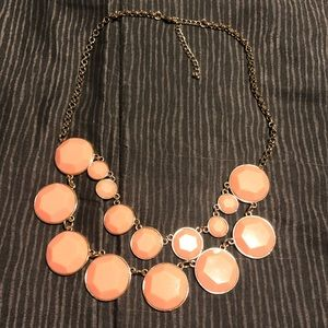 Double layer coral necklace